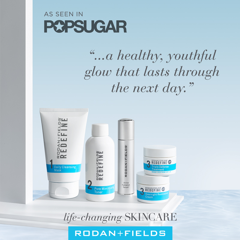 REDEFINE- Pop Sugar Quote